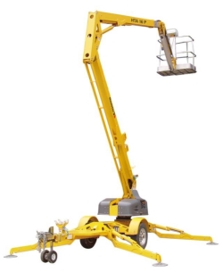 Rental store for 45  TOWABLE PERSONNEL BOOM LIFT in Salinas CA