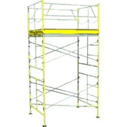 Rental store for 10  ROLLING SCAFFOLDING TOWER in Salinas CA