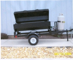 Rental store for TOWABLE PROPANE BARBEQUE with GRILL in Salinas CA