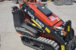 Rental store for 35  GAS MINI TRACK SKID STEER LOADER in Salinas CA