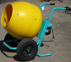 Rental store for 2 CU FT WHEEL BARROW CONCRETE MIXER in Salinas CA