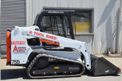 Rental store for 62  66  TRACK SKID STEER  LOADER TRACTOR in Salinas CA