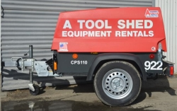 Rental store for 90 CFM TOWABLE DIESEL AIR COMPRESSOR in Salinas CA