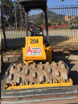 Rental store for 48  VIBRATORY SHEEPSFOOT ROLLER in Salinas CA