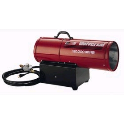 Rental store for 150,000 BTU FORCED AIR PROPANE HEATER in Salinas CA