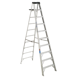 Rental store for 10  ALUMINUM STEP LADDER in Salinas CA