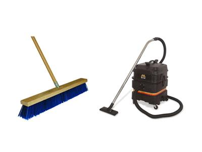 Rent Vacuum & Sweeper