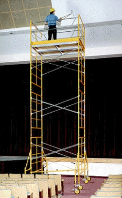 Rental store for 15  ROLLING SCAFFOLDING TOWER in Salinas CA