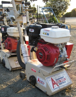 Used Equipment Sales GAS COMPACT CONCRETE PLANER in Salinas CA