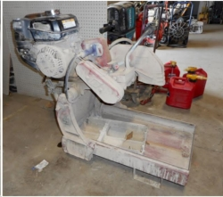 Used Equipment Sales GAS BRICK SAW in Salinas CA