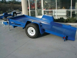 Rental store for SINGLE AXLE TILT BED EQUIPMENT TRAILER in Salinas CA