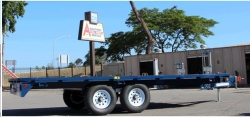 Rental store for 8  x18  DECK OVER TRAILER in Salinas CA