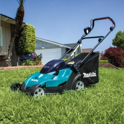 Rental store for 17  MAKITA CORDLESS LAWN MOWER in Salinas CA